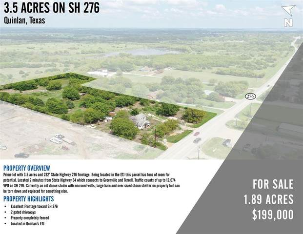 2004 State Highway 276 W, Quinlan, TX 75474 (MLS #14440112) :: The Good Home Team