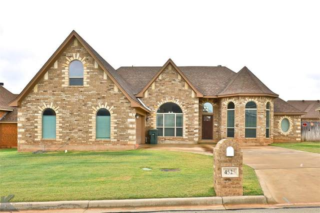 4525 High Sierra, Abilene, TX 79606 (MLS #14440261) :: The Chad Smith Team
