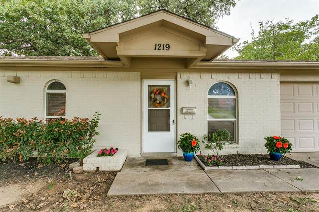1219 Springwood Drive, Lewisville, TX 75067 (MLS #14440295) :: Real Estate By Design