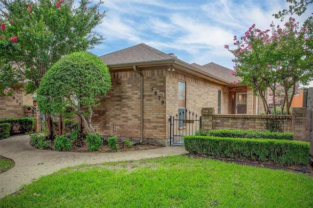 5879 Westhaven Drive, Fort Worth, TX 76132 (MLS #14440422) :: The Hornburg Real Estate Group