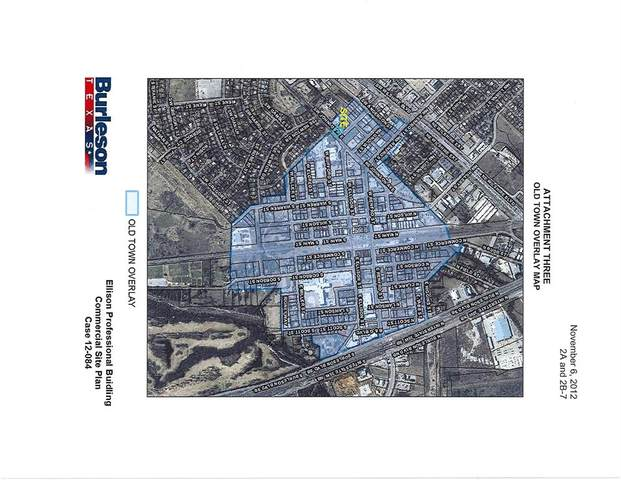 216 S Warren Street, Burleson, TX 76028 (MLS #14440756) :: The Hornburg Real Estate Group