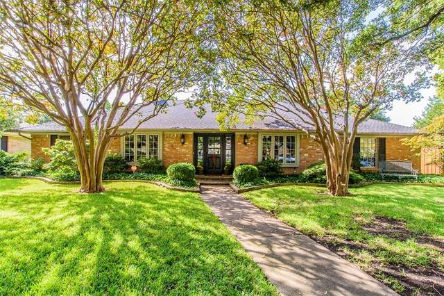 7706 Tanglecrest Drive, Dallas, TX 75254 (MLS #14440856) :: Hargrove Realty Group