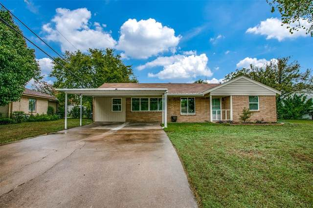 3545 South Drive, Fort Worth, TX 76109 (MLS #14441021) :: Keller Williams Realty