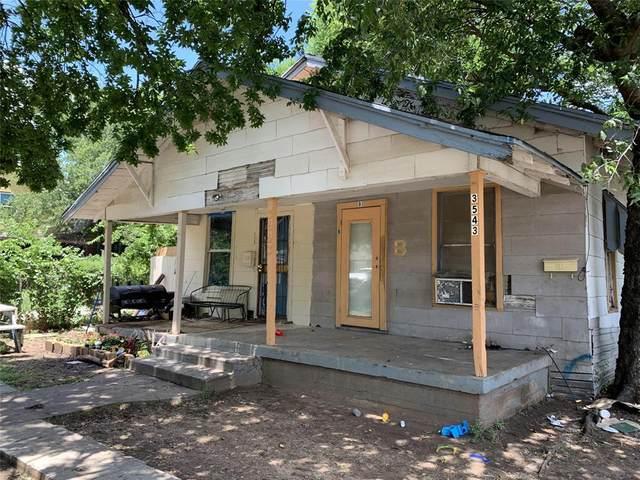 3543 Avenue J A-B, Fort Worth, TX 76105 (MLS #14441039) :: Trinity Premier Properties