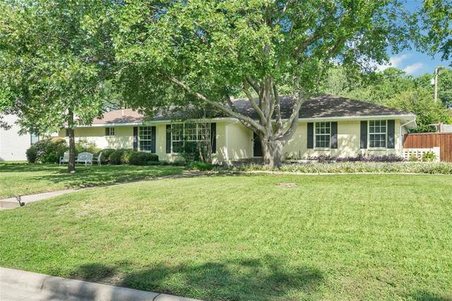 5849 Burgundy Road, Dallas, TX 75230 (MLS #14441216) :: The Good Home Team