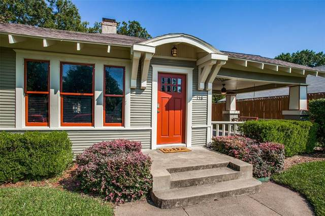 718 N Windomere Avenue, Dallas, TX 75208 (#14441397) :: Homes By Lainie Real Estate Group
