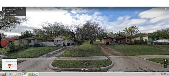 1304 E Jessamine Street, Fort Worth, TX 76104 (MLS #14441509) :: Maegan Brest | Keller Williams Realty