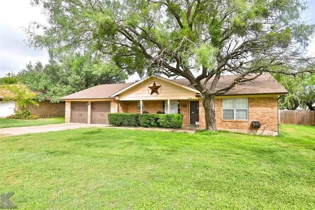 1018 Chriswood Drive, Abilene, TX 79601 (MLS #14441556) :: The Daniel Team