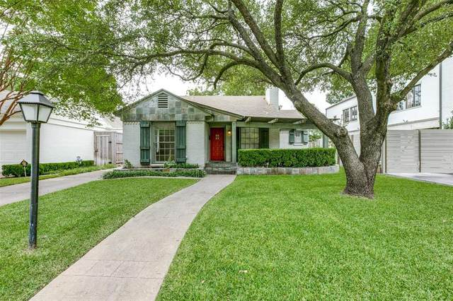 4627 Westside Drive, Highland Park, TX 75209 (MLS #14441671) :: Team Tiller