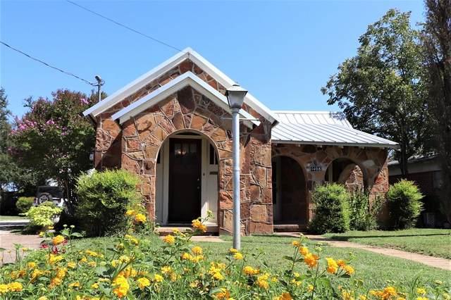 1408 Vine Street, Brownwood, TX 76801 (MLS #14441682) :: The Hornburg Real Estate Group