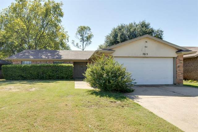 2813 Whitehurst Drive, Fort Worth, TX 76133 (MLS #14441796) :: Maegan Brest | Keller Williams Realty