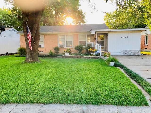 2027 Joan Drive, Dallas, TX 75217 (MLS #14441840) :: Real Estate By Design