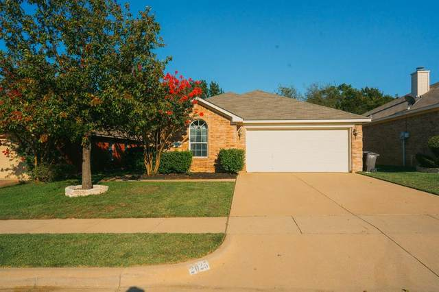 2025 Castleview Drive, Fort Worth, TX 76120 (MLS #14442375) :: Bray Real Estate Group