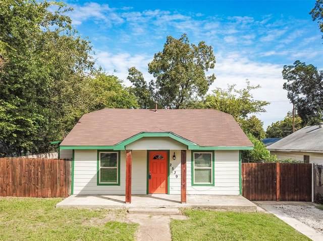 2539 Kingston Street, Dallas, TX 75211 (MLS #14442394) :: The Chad Smith Team
