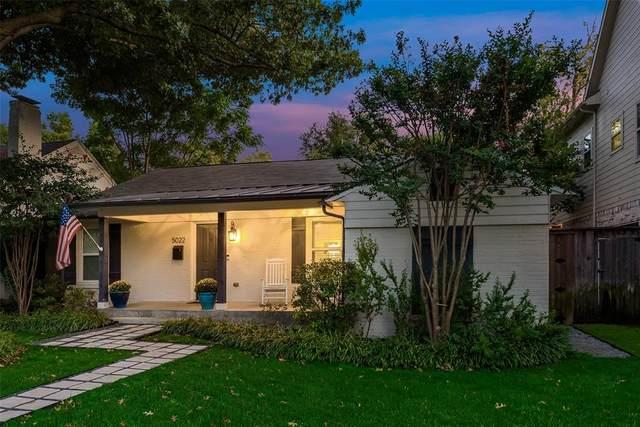 5022 W Hanover Avenue, Dallas, TX 75209 (MLS #14442534) :: The Hornburg Real Estate Group