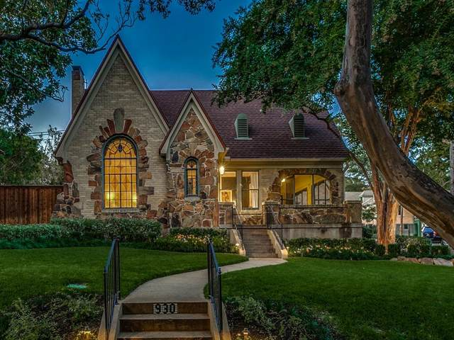 930 Valencia Street, Dallas, TX 75223 (MLS #14442699) :: RE/MAX Pinnacle Group REALTORS