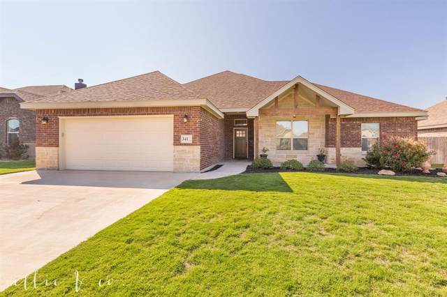 341 Eagle Mountain Drive, Abilene, TX 79602 (MLS #14442878) :: Team Tiller