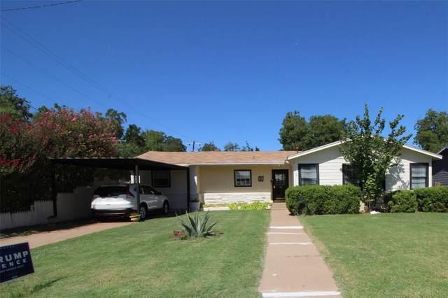 4118 Waldemar Street, Abilene, TX 79605 (MLS #14442918) :: ACR- ANN CARR REALTORS®