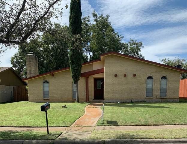 3317 Country Club Drive, Grand Prairie, TX 75052 (MLS #14442990) :: The Hornburg Real Estate Group