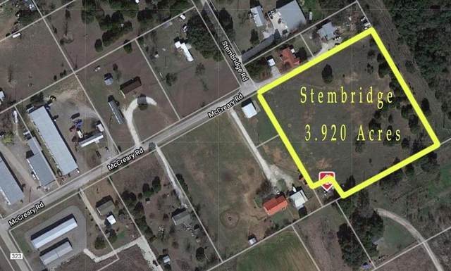513 Stembridge Road, Granbury, TX 76049 (MLS #14443594) :: Potts Realty Group