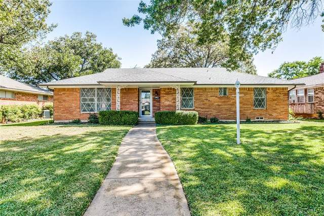 3808 Pomeroy Drive, Dallas, TX 75233 (MLS #14444119) :: The Paula Jones Team | RE/MAX of Abilene
