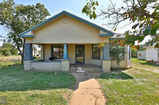 1609 Chestnut Street, Abilene, TX 79602 (MLS #14444614) :: The Mauelshagen Group