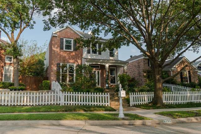 6764 Hillhaven Drive, Plano, TX 75024 (MLS #14444666) :: The Rhodes Team