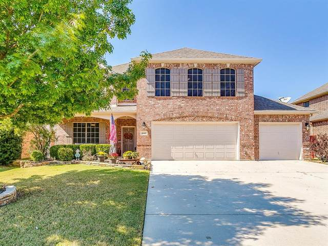 15453 Landing Creek Lane, Fort Worth, TX 76262 (MLS #14444736) :: Potts Realty Group