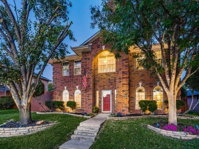 821 Cornell Lane, Allen, TX 75002 (MLS #14445326) :: The Mauelshagen Group