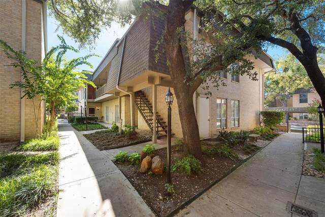 4320 Bellaire Drive S 217W, Fort Worth, TX 76109 (MLS #14445636) :: Front Real Estate Co.