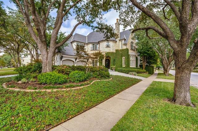 4500 Belclaire Avenue, Highland Park, TX 75205 (MLS #14445862) :: The Hornburg Real Estate Group