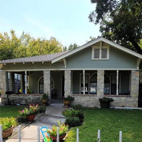 915 S Glasgow Drive, Dallas, TX 75223 (MLS #14446283) :: The Hornburg Real Estate Group