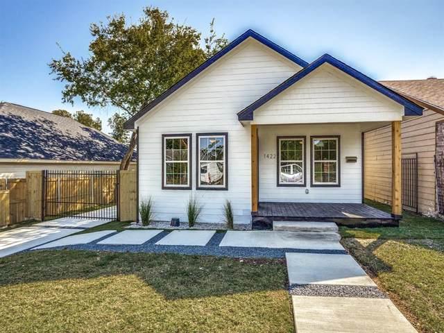 1422 Hendricks Avenue, Dallas, TX 75216 (MLS #14446457) :: EXIT Realty Elite