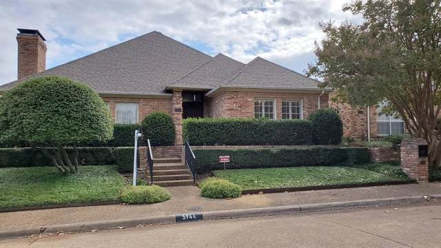 5944 Encore Drive, Dallas, TX 75240 (MLS #14446881) :: The Good Home Team