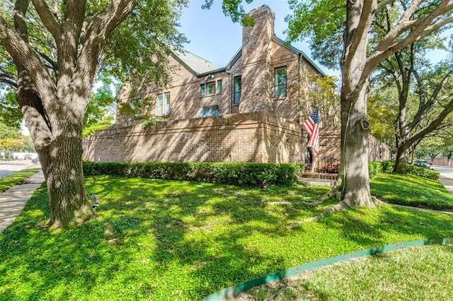 4501 Westside Drive, Highland Park, TX 75209 (MLS #14447275) :: The Hornburg Real Estate Group