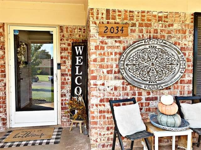 2034 Brentwood Drive, Abilene, TX 79605 (MLS #14447345) :: Potts Realty Group