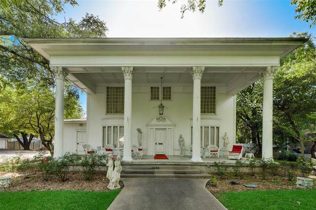 1406 S Houston Street, Kaufman, TX 75142 (MLS #14447371) :: Justin Bassett Realty