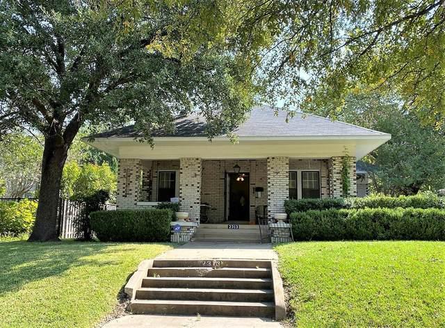 2313 5th Avenue, Fort Worth, TX 76110 (MLS #14447406) :: RE/MAX Pinnacle Group REALTORS