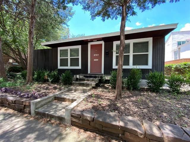 3717 Throckmorton Street, Dallas, TX 75219 (MLS #14447646) :: Bray Real Estate Group