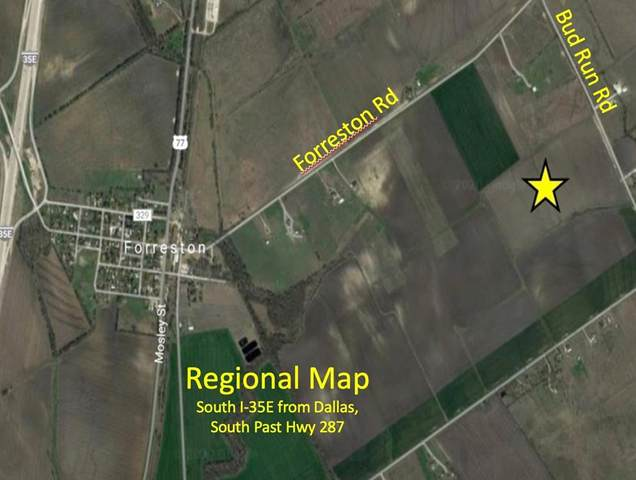 2.24 AC Bud Run Road, Waxahachie, TX 75165 (MLS #14447766) :: The Chad Smith Team