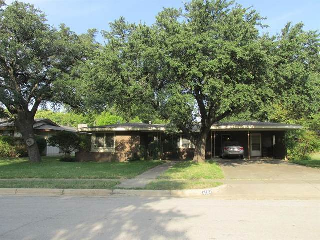 4104 Bonnie Drive, Fort Worth, TX 76116 (MLS #14448215) :: Front Real Estate Co.