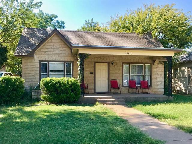 1342 Jeanette Street, Abilene, TX 79602 (MLS #14448444) :: The Mauelshagen Group