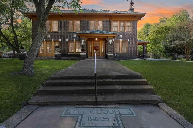 214 S Rike Street, Farmersville, TX 75442 (MLS #14448704) :: The Mauelshagen Group