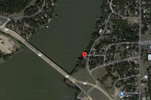 4401 Clarke Drive, Fort Worth, TX 76135 (MLS #14448737) :: Trinity Premier Properties