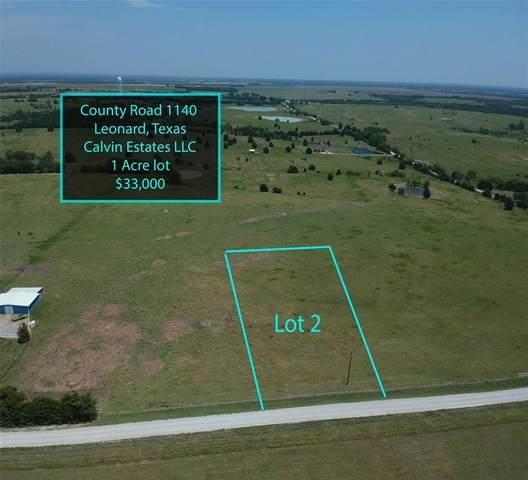 Lot 2 County Road 1140, Leonard, TX 75452 (MLS #14448817) :: The Paula Jones Team | RE/MAX of Abilene