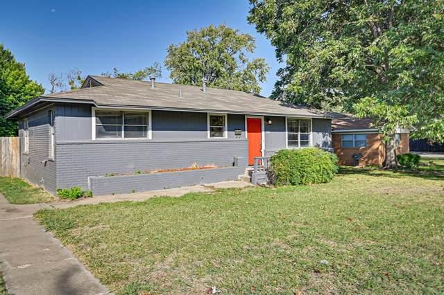 3704 Stadium Drive, Fort Worth, TX 76109 (MLS #14449087) :: The Mauelshagen Group