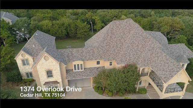 1374 Overlook Circle, Cedar Hill, TX 75104 (MLS #14449301) :: Keller Williams Realty