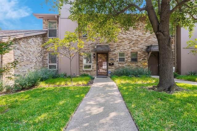 10728 Sandpiper Lane #20, Dallas, TX 75230 (MLS #14449450) :: The Hornburg Real Estate Group