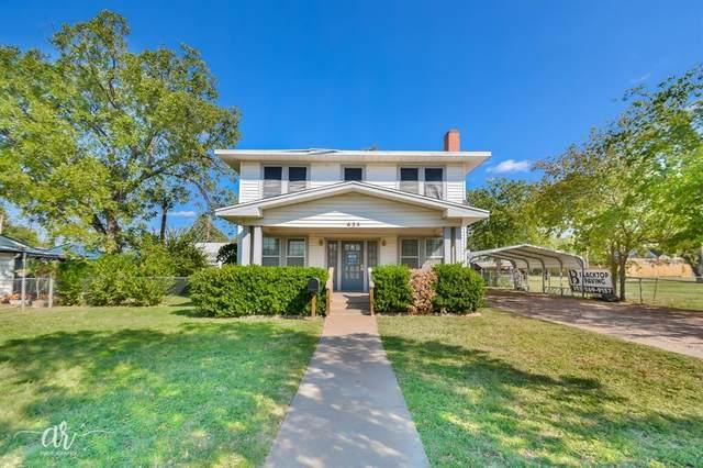 625 Mulberry Street, Abilene, TX 79601 (MLS #14449535) :: HergGroup Dallas-Fort Worth
