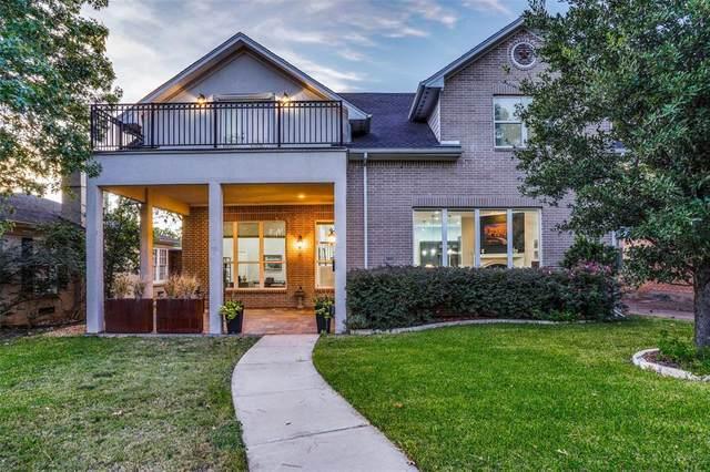 3603 S Versailles Avenue, Dallas, TX 75209 (MLS #14449894) :: The Paula Jones Team | RE/MAX of Abilene